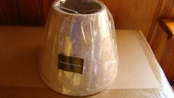 NEW Urbanest Linen Mini Lamp Shade 5quot; Clip On $8.00