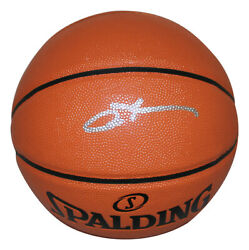 Allen Iverson Signed Philadelphia 76ers Spalding Game Rep Basketball BAS 28383 $229.99
