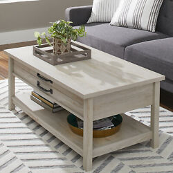 Better Homes amp; Gardens Modern Farmhouse Lift Top Coffee Table Living Room $178.60