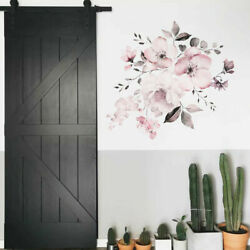 DIY Wall Sticker Decal Mural Vinyl Quote Home Room Decor Art 3D Flower Removable $5.91