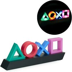 Paladone Playstation Icons Light with 3 Light Modes Iluminación de sala de juego $44.00