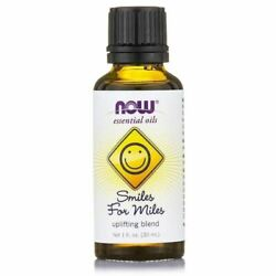 Now Smiles for Miles Essential Oil Blend 1 Ounce EXP 2020 dec $12.99