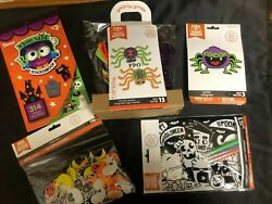 NEW HALLOWEEN CRAFTS 5 PACKS FOAM KITS STICKER BOOK STICKERS amp; MORE H9 $9.99
