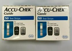 100 Accu Chek Guide Test Strips Expire 10 2021 Free Shipping.. $30.00