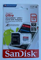 SanDisk Micro SD SDXC Ultra Memory Card Class 10 128 GB 256 GB UHS I 100MB s A1 $26.99
