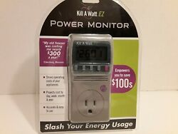 P3 KILL A WATT EZ Power Usage Voltage Meter Monitor NEW P4460 READ BELOW NIP $35.68