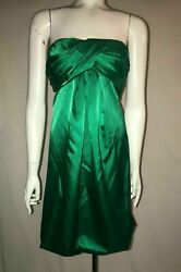 NWT One Dress Inc Beautiful Green Cocktail Holiday Party Dress Size XL 64.99 $26.99
