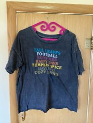 Fifth Sun Women's Fall T Shirt Size XL $4.99
