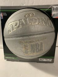 New Spalding NBA Super Flite Basketball Official Size 7 29.5#x27;#x27; Gray $26.97