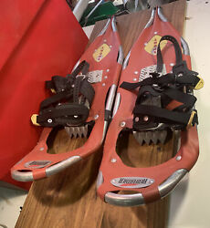RED FEATHER Trail Snowshoes T30 SPORT 30quot; x 9quot; Snow Shoes. Great Shape $48.00