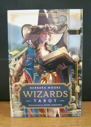 Wizards Tarot Kit w Book Boxed Set Barbara Moore M. Janssens Sealed New $29.99