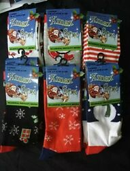 New Men#x27;s Ladies Festive Christmas Design Novelty Socks Women#x27;s Xmas Gift lot GBP 1.99