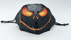 Halloween Jack Skellington Mask Face Cover Adjustable with Filter Yhkz 42 $6.99