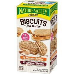 New Nature Valley Biscuit Sandwich Variety Pack 30 ct. US $19.47