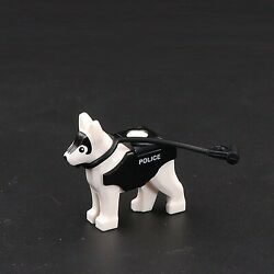 Custom Military Police White Dog for Lego minifigures $6.12