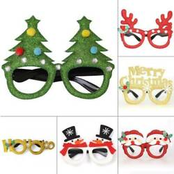 Novelty Christmas Glasses Xmas Selfie Picture Party Photo Booth Props Decors New C $1.95