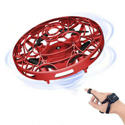 UFO Four axis Mini Drone Quad Induction Levitation Hand Operated Helicopter Kids $10.79