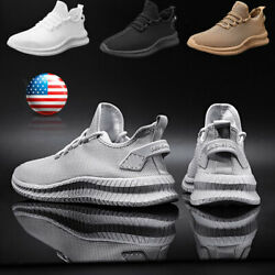 Running Casual Shoes Men#x27;s Outdoor Athletic Jogging Sports Tennis Sneakers Gym $22.99