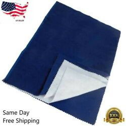 Jewelry Cleaning Polishing Cloth Silver Gold Brass Restore Shine Multipule Layer $3.49