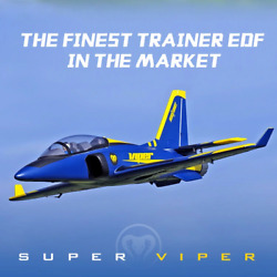 FMS RC Airplane 70mm Super Viper EDF Jet planes model PNP plane for adults NEW $379.99