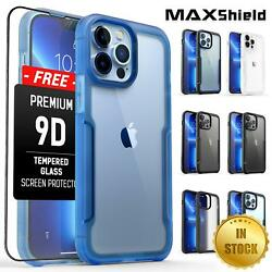 MAXSHIELD For iPhone 12 Pro Max Mini Case Heavy Duty Shockproof Clear Slim Cover $12.99