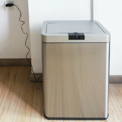 13 Gallon Automatic Touchless Garbage Sensor Trash Can Wastebasket Kitchen Bin $75.99