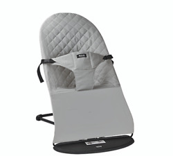 Baby Bouncer Balance Soft Bouncer Brand New with Extra Cotton Mesh Premium Grey $75.00