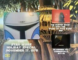 Star Wars The 1978 Holiday Special DVD Muppet Show And Toy Commercials $9.99