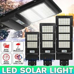 280000LM Commercial Outdoor Solar Induction Integrated Street LED Light Remote