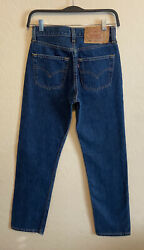 Vintage Levi#x27;s 501 High Rise Mom Jeans For Women USA Made 100% Cotton Sz 26x30 $120.00