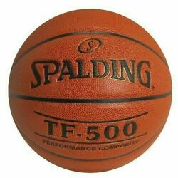Spalding TF 500 Men#x27;s 29.5 inch Basketball Composite Leather NEW $29.99