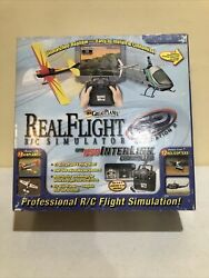 Real Flight R C Pro Simulator Great Planes G2 USB Interlink Controller No Game $24.99