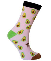 Avocado Don#x27;t Talk To Me Novelty Socks for Men and Women $4.99