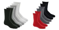 New Under Armour Youth Boys 6 Pack Cotton 2.0 Crew Socks $15.95