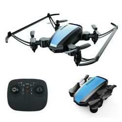 2.4G Mini Quadcopter Drone Foldable LED Remote Control For Beginners Kids Adult $19.13