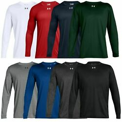 New With Tags Men#x27;s Under Armour Gym Muscle Crew Long Sleeve Tee Shirt Top $22.99