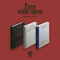 US SHIPPING TWICE EYES WIDE OPEN KpopMusicDepot $37.99