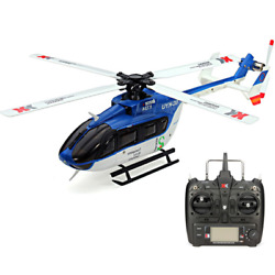 XK K124 6CH Brushless EC145 3D6G System RC Helicopter RTF Control Mode 2.4G $239.99