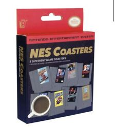 Nintendo NES Classic Video Game Cartridge Coasters #020750 Paladone $17.95