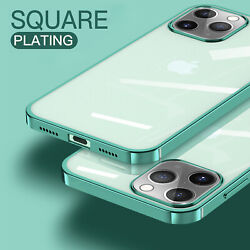 For iPhone 11 Pro Max XS XR X 8 Plus 7 Clear Case Soft Shockproof Crystal Cover $7.78