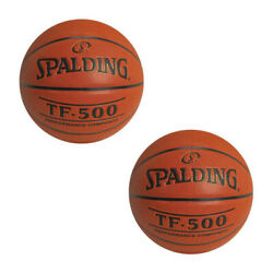Spalding TF 500 Performance Composite Basketball 29.5quot; 2 Pack $54.99