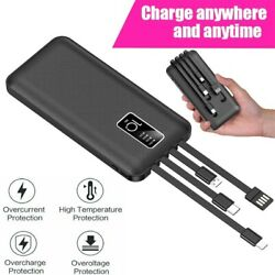 900000mAh Backup External Battery USB Power Bank Pack Charger for Cell Phone $16.99