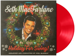 Seth MacFarlane ‎– Holiday For Swing Exclusive Limited Edition Red Vinyl LP $37.99