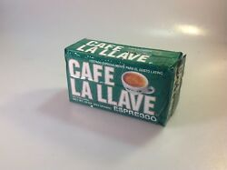 Cafe La Llave Expresso Coffee Grounds Authentic Cafe $7.99