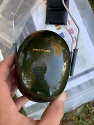 Vintage Peltor Hearing Defender Dark Green Hearing Protector USA Made $19.99