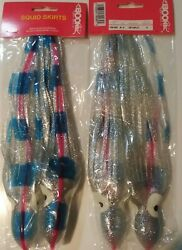 Boone Squid Skirts 2 ct 5 different colors $6.95