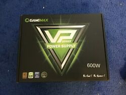 Power Supply 600W with ECO Mode 80 Bronze Certified GAMEMAX VP 600 $52.00