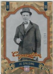 AL SPALDING 299 COOPERSTOWN CRYSTAL CRACKED ICE COLLECTION WHITE SOX #15 2012 $1.99