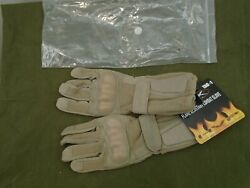 USGI US Military Wiley X Flame Resistant Combat Knuckle Gloves Large Tan New $39.95