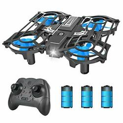 NH320 Mini Drones for Kids Beginners RC Small Quadcopter Drone with 3 Batteries $43.74